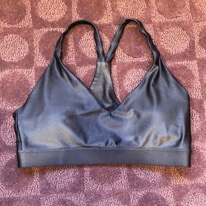 Forever21 Active Purple Sports Bra Size Small